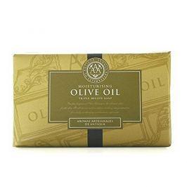 Somerset Toiletry Luxusní tuhé mýdlo v ozdobném papíru Olivový olej (Triple Milled Soap) 200 g
