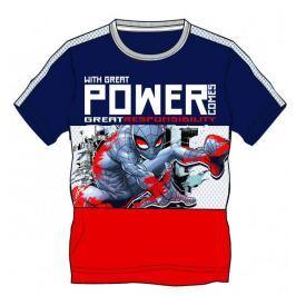 Disney by Arnetta Chlapecké tričko Spiderman - modro-červené 110