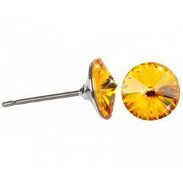 Troli Náušnice Rivoli 8 mm Sunflower