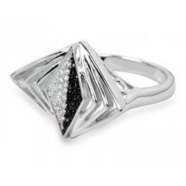 Silver Cat Stříbrný prsten s krystaly SC049 (Obvod 56 mm) stříbro 925/1000