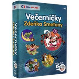 Večerníčky Zdeňka Smetany (9DVD)   - DVD