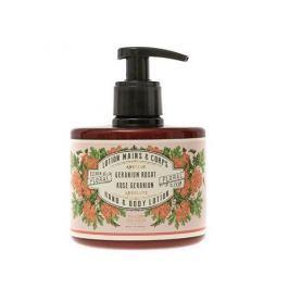 Panier des Sens Lehké denní mléko na tělo a ruce Růže a muškát (Hand & Body Lotion) 300 ml