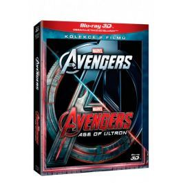 Avengers: Age of Ultron  3D+2D (2 disky)   - Blu-ray