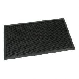 FLOMAT Gumová vstupní kartáčová rohož Rubber Brush - 75 x 45 x 1 cm