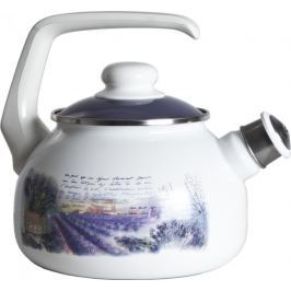 Metalac Čajová konvice s píšťalkou levandule, 2 litry