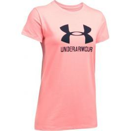 Under Armour Sportstyle Crew Cape Coral Light Heather Midnight Navy S