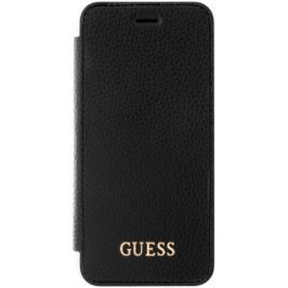 Guess Flipový kryt IriDescent (Apple iPhone 6/6S/7), černá