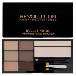 Makeup Revolution Ultra Paletka na obočí (Ultra Brow) (Odstín Medium to Dark)