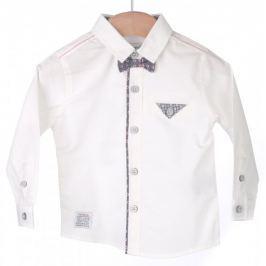 Primigi chlapecká košile 74 smetanová