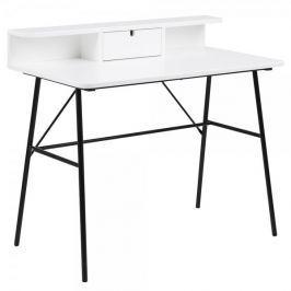 Design Scandinavia Pracovní stůl se zásuvkou Calina, 100 cm
