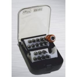 CORONA Set bitů 17 ks, automatický držák bitů