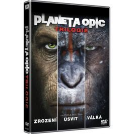 Trilogie Planeta opic (3DVD)   - DVD