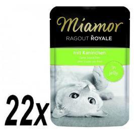 Finnern Kapsička Miamor Ragout Royale králík v želé 22 x 100g