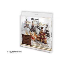 Silikomart Silikonová forma na čokoládu – 3D vánoční strom