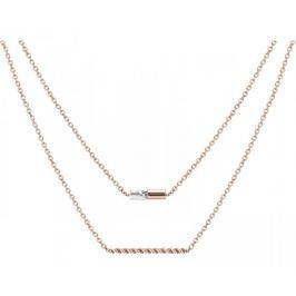 Esprit Vrstvený bronzový náhrdelník ESPRIT-JW52913 ROSE