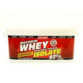 XXlabs Maximum Whey Protein Isolate 92, 1000 g Čokoláda