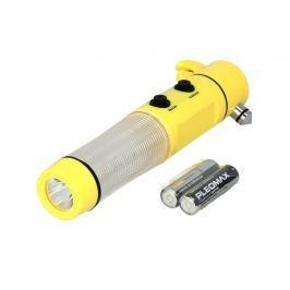 TIROSS Nouzová baterka 3 + 1 LED