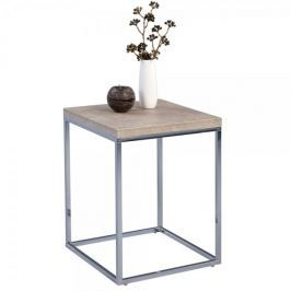 Artenat Odkládací stolek Olaf, 40 cm, beton/chrom