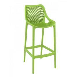 BHM Germany Barová židle Rio outdoor (SET 2 ks), zelená
