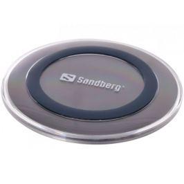 Sandberg bezdrátová nabíječka Qi, podložka, Wireless Charger Alu Pad 10W