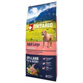 Ontario Adult Large Lamb & Rice 12kg