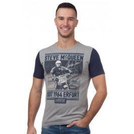 Barbour pánské tričko XL šedá
