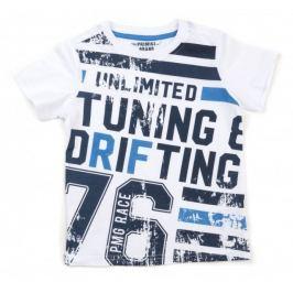 Primigi chlapecké tričko 110 bílá