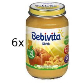 Bebivita První Dýně - 6x190g