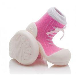 Attipas dívčí botičky Sneakers Pink 19 růžová