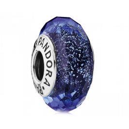 Pandora Modrý skleněný korálek 791646 stříbro 925/1000