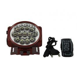 TIROSS Nabíjecí čelová svítilna - čelovka 13 LED