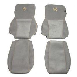 F-CORE Potahy na sedadla CS02 GD, šedé