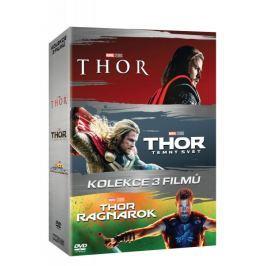 Kolekce Thor 1-3: Thor + Thor: Temný svět + Thor: Ragnarok (3DVD)   - DVD