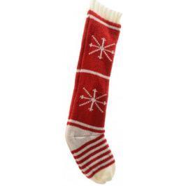 Kaemingk Vánoční pletená punčocha, hvězdy