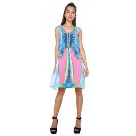 Desigual dámské šaty Madrid 42 vícebarevná