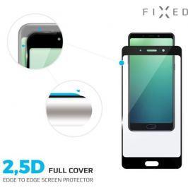 Fixed Full-cover ochranné tvrzené sklo pro Huawei P20 Lite, přes celý displej, černé, 0.33 mm FIXGF-278-BK