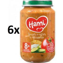 Hami Špagety s rajčaty a mozzarellou - 6x200g