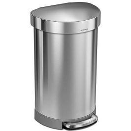 Simplehuman Pedálový odpadkový koš půlkulatý 45 l