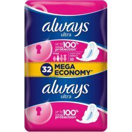 Always Ultra Super Plus Dámské hygienické vložky 32 ks