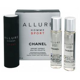 Chanel Allure Homme Sport - EDT (3 x 20 ml) 60 ml