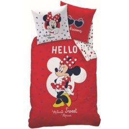 CTI Povlečení Minnie Mouse Hello 140x200, 70x90