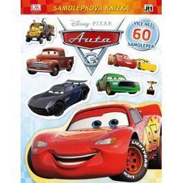Auta 3 - Samolepková knížka