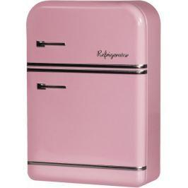 Time Life Úložná krabička lednice 25 cm, růžová
