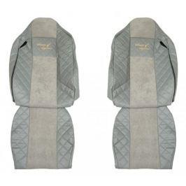 F-CORE Potahy na sedadla FX11, šedé