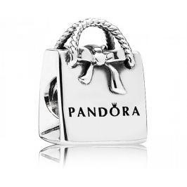 Pandora Stříbrný korálek Nákupní taška 791184 stříbro 925/1000