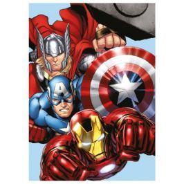 Jerry Fabrics Mikroplyšová deka Avengers 100x140 cm