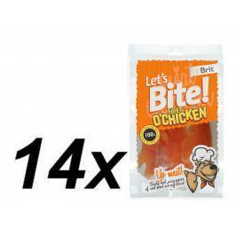 Brit Brit Lets Bite Fillet o'Chicken 14x80 g