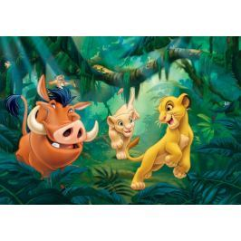 Walplus Fototapeta Lví král - Simba a Pumba 254x184 cm