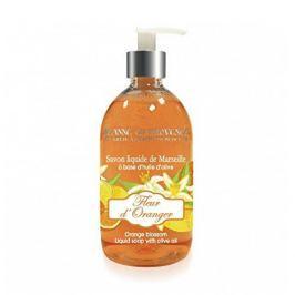 Jeanne En Provence Tekuté mýdlo na ruce Pomerančové květy (Liquid Soap With Olive Oil) 500 ml