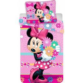 Jerry Fabrics Povlečení Minnie Bows and Flowers